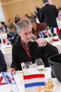 Chris Alblas jurylid Concours Mondial du Sauvignon 2013
