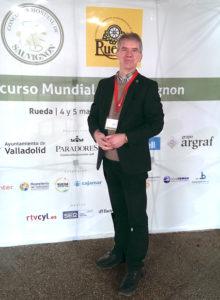 Chris Alblas jurylid 7de ConcourS Mondial Sauvignon in Rueda